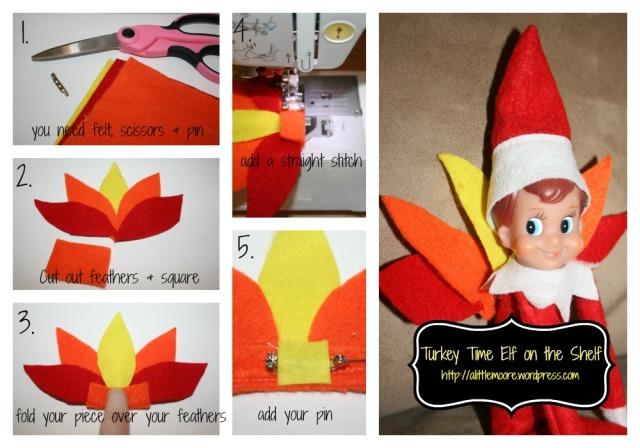 turkey time elf tutorial