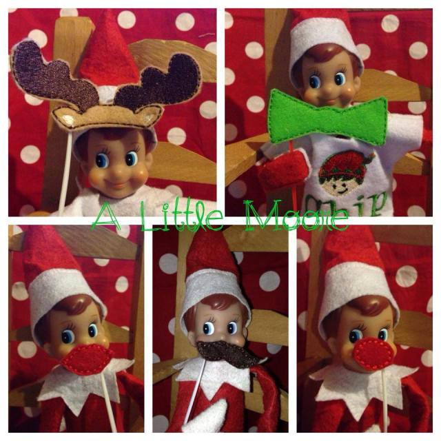 alittlemoore elf on the shelf props